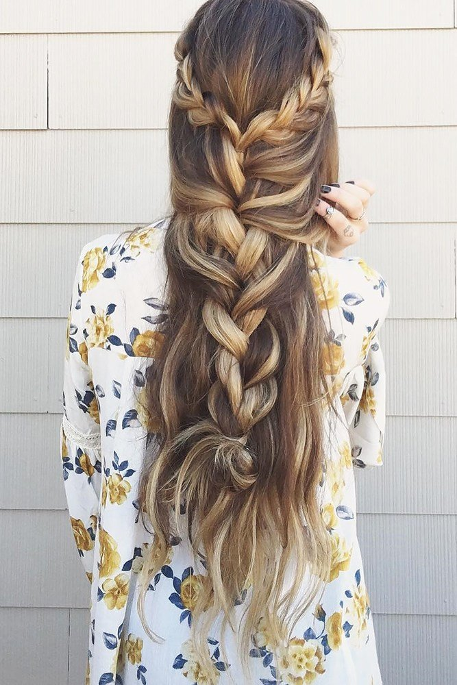 The Best 30 Overwhelming Boho Wedding Hairstyles – My Stylish Zoo Pictures