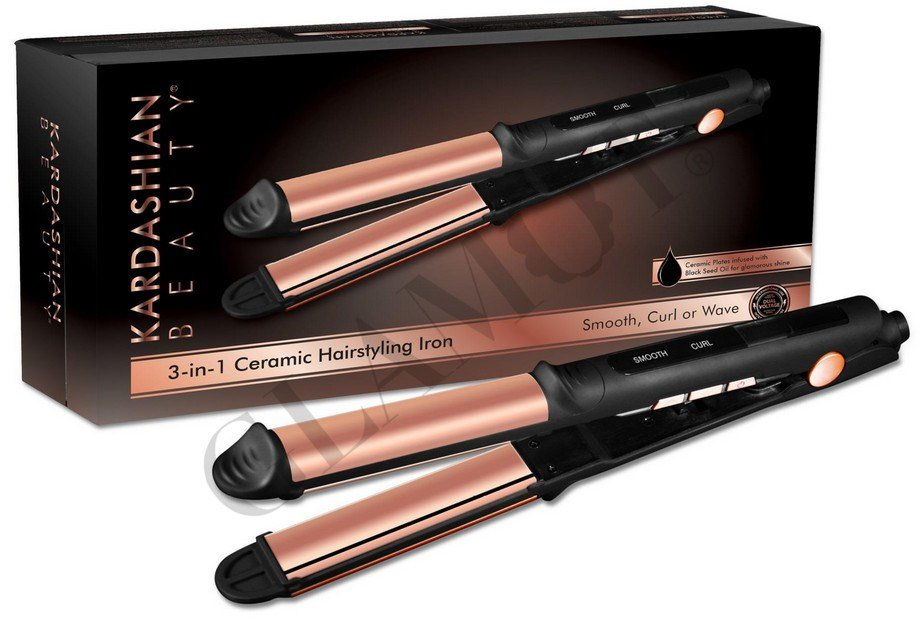 The Best Kardashian Beauty 3 In 1 Hairstyling Iron Log Glamot Com Pictures
