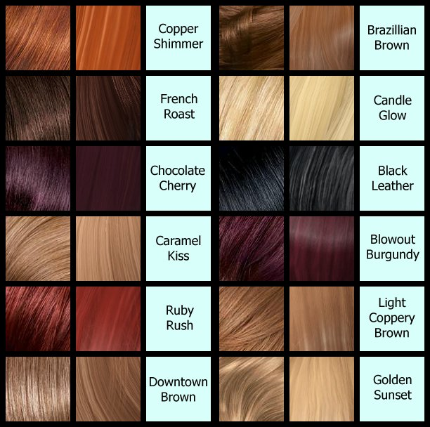 The Best Brown Hair Dye Color Names Hair Color Highlighting And Pictures