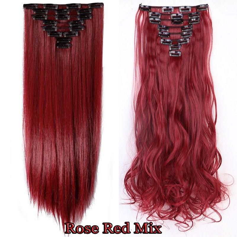 The Best Us 100 Real Clip In Hair Extensions 8Pcs Full Head Pictures