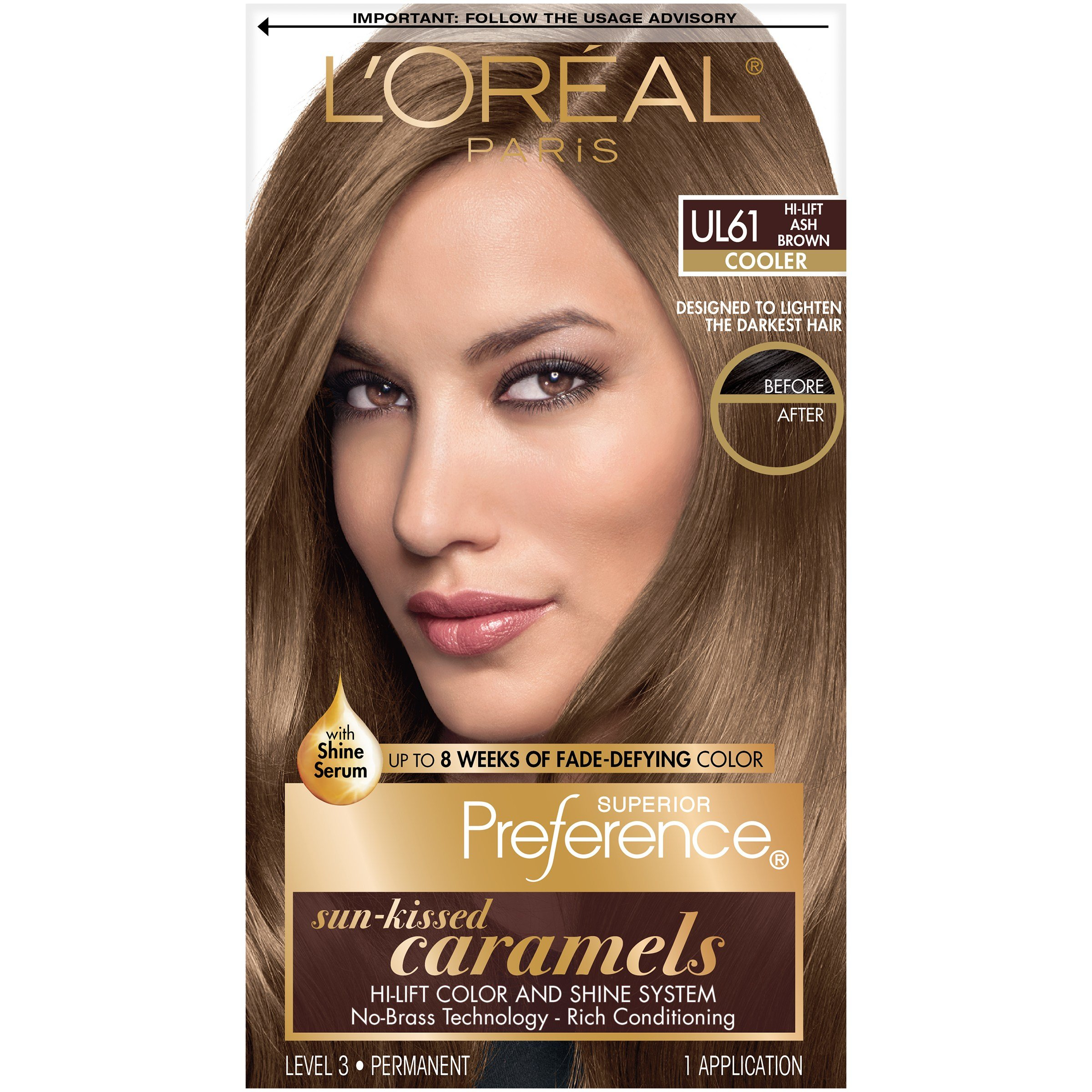 The Best Bxc L Oreal Superior Preference Ul61 Hi Lift Ash Brown Pictures