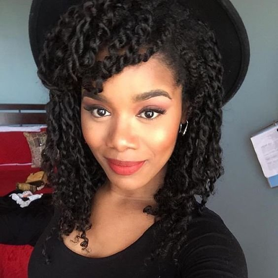 The Best Two Strand Twist Styles That Are Super Easy To Do Pictures