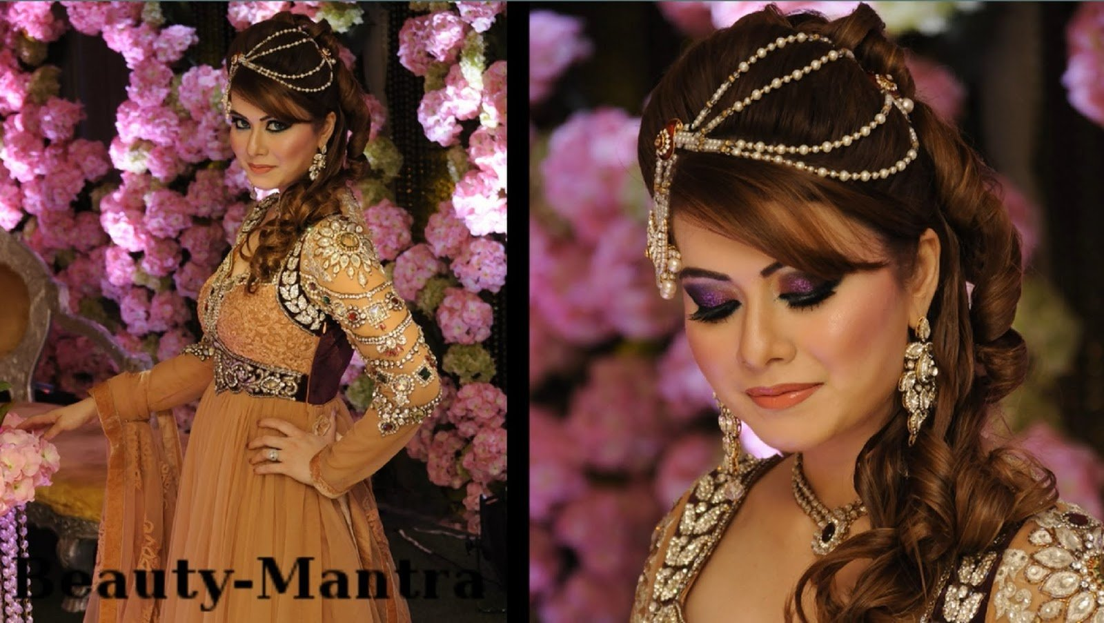 The Best Arabic Bridal Makeup Hairstyles Tutorial Step By Step Pictures
