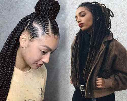 The Best Trendy Box Braids For Black Women 47 Styles To Try In 2019 Pictures