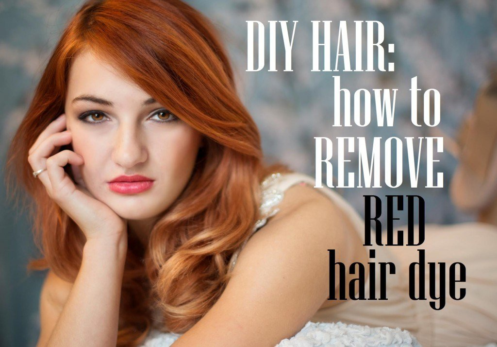 The Best Diy Hair How To Remove Red Hair Dye Bellatory Pictures