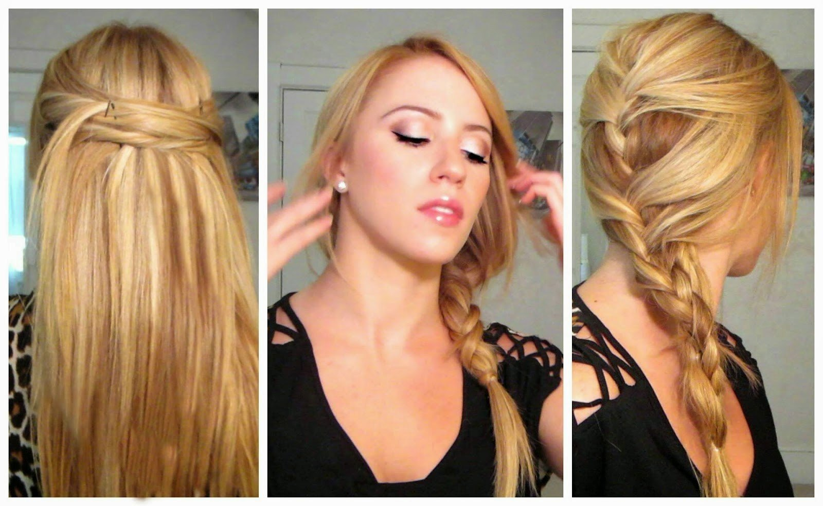 The Best Quick Easy Hairstyles For Long Straight Hair Hairstyle Pictures