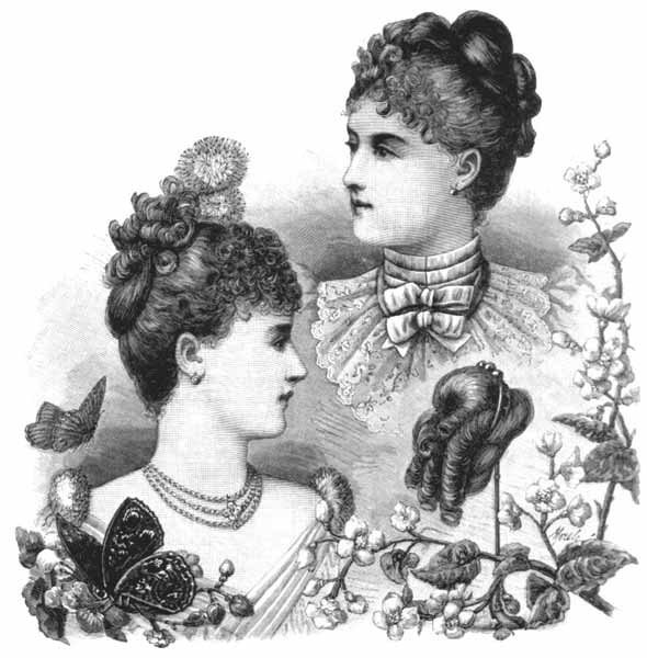 The Best 1880S Evening Hairstyle Pictures Original 1024 x 768