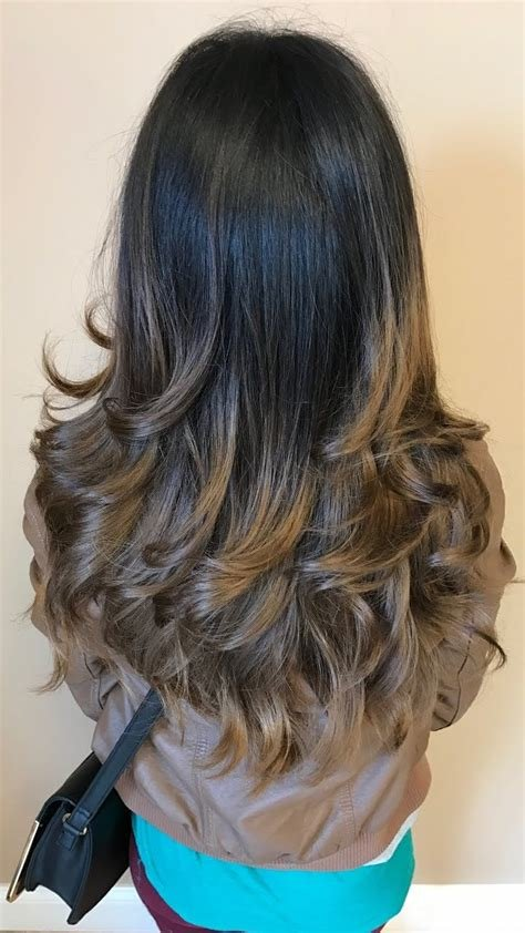 The Best Step Cutting Hairstyle For Thin Hair Long Curly Hair Pictures Indian Pictures