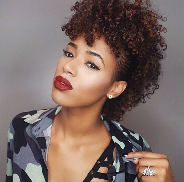The Best Curly Mohawk Hairstyles Hairstylo Pictures