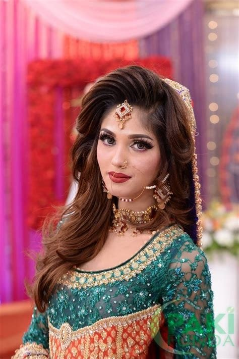 The Best Beautiful Pakistani Wedding Bridal Dresses Makeup And Pictures