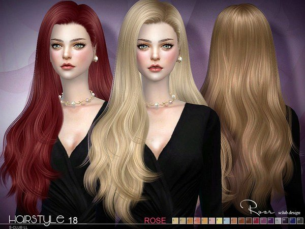 The Best S Club S Sclub Ts4 Hair Rose N18 Update07 04 2017 Pictures
