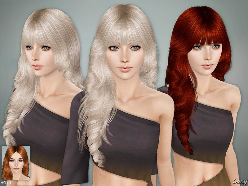 The Best Cazy S Lisa Hairstyle Set Sims 3 Pictures