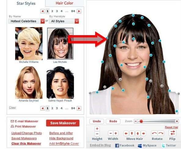 The Best Try On Hairstyles Virtually Free Hair Pictures