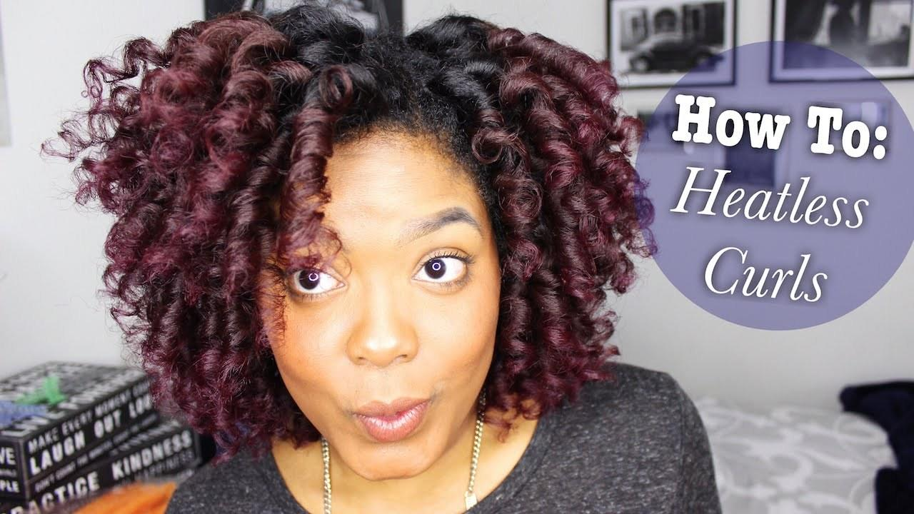The Best Awesome Heatless Curl Method Using Curl Formers To Create Pictures