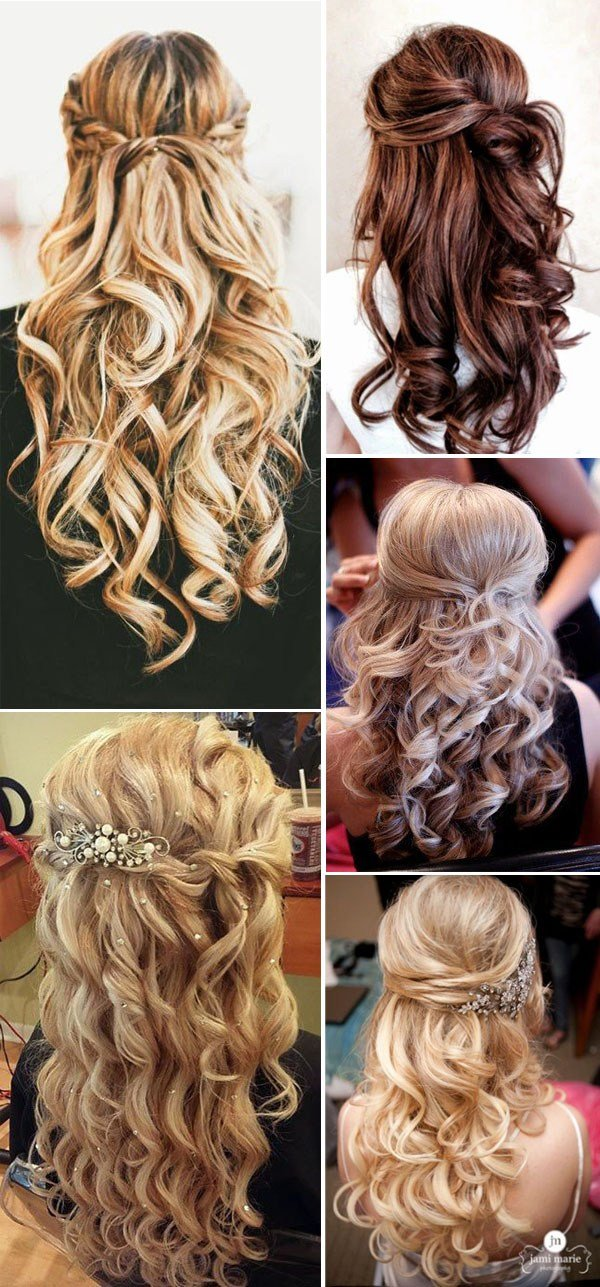The Best 20 Awesome Half Up Half Down Wedding Hairstyle Ideas Pictures