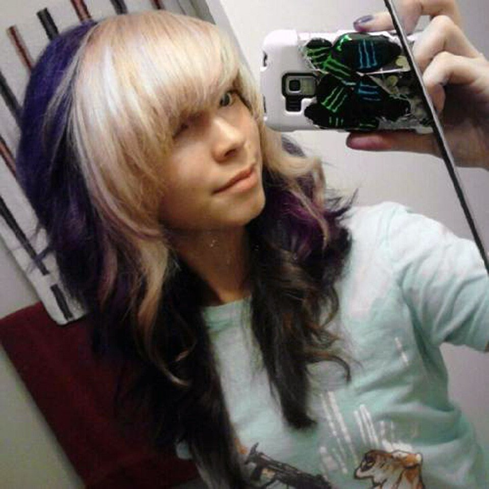 The Best Black Hair With Blonde Bangs Tumblr Pictures Fashion Gallery Pictures