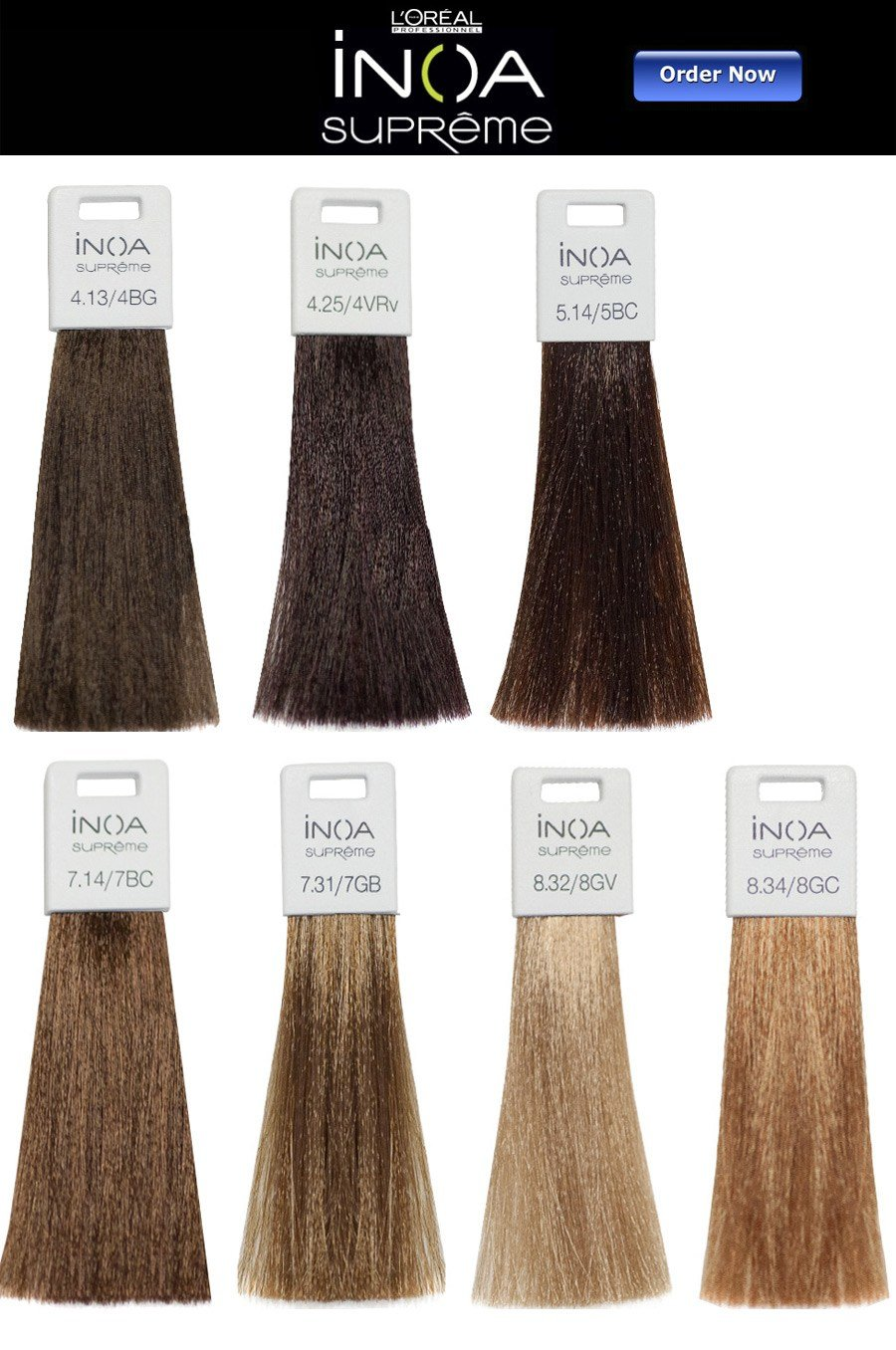 The Best L Oreal Inoa Supreme Hair Color Chart Pictures
