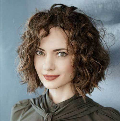 The Best Really Stylish Curly Bob Hairstyles For Ladies Bob Pictures