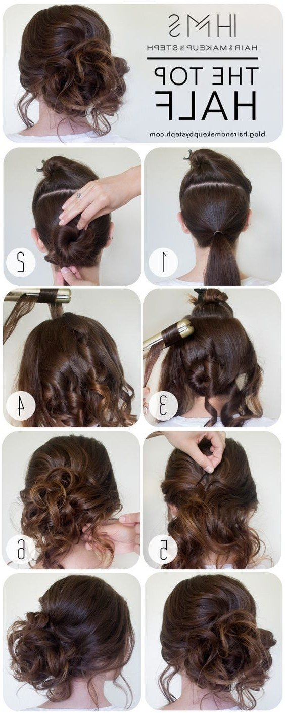 The Best Prom Hairstyles Step By Step Fade Haircut Pictures