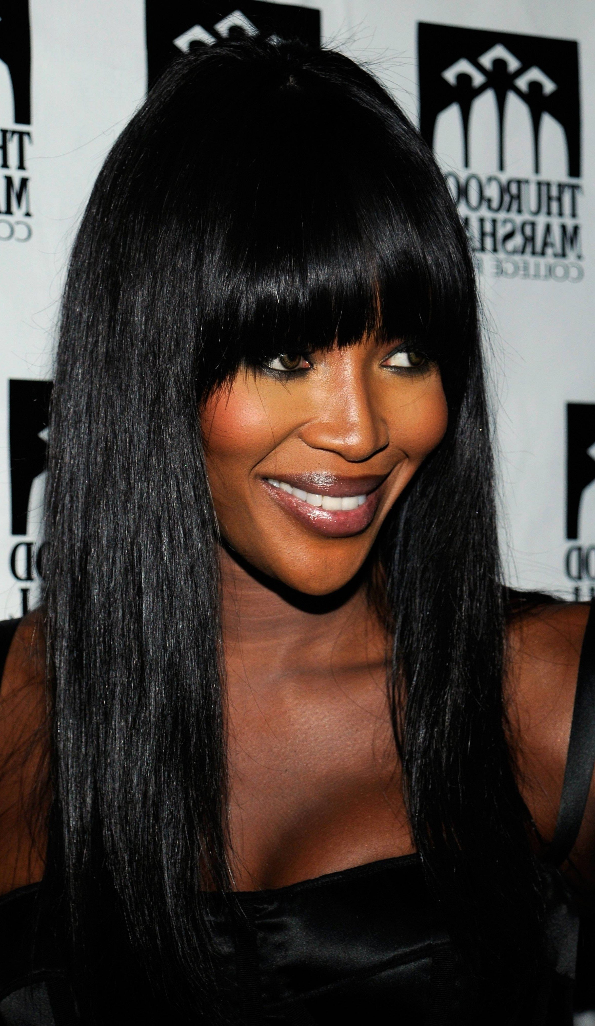 The Best Long Hairstyles With Bangs For Black Women Short Hair Pictures