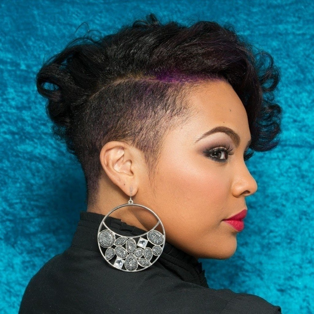 The Best Shaved Side Black Hairstyles Fade Haircut Pictures
