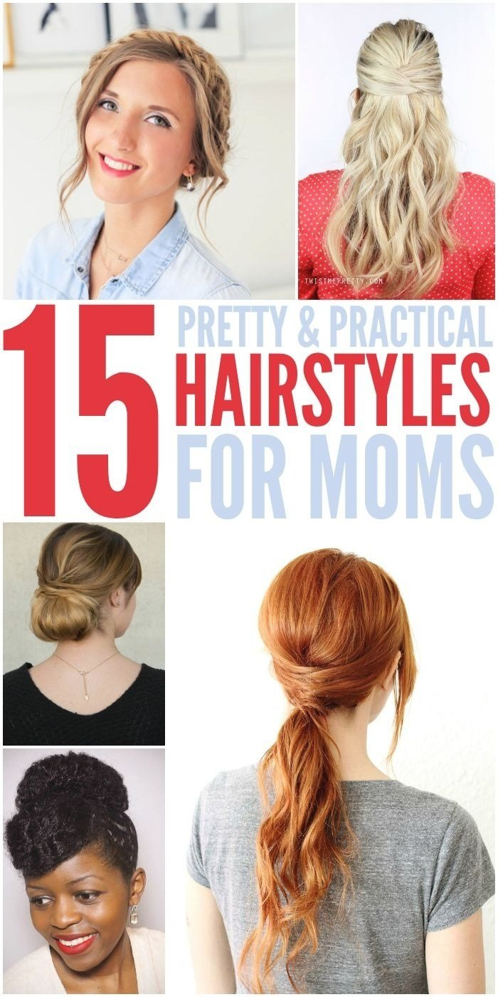 The Best Easy Hairstyles For Mums Fade Haircut Pictures