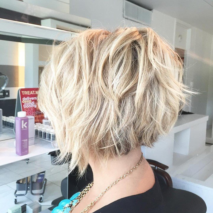 The Best 40 Choppy Bob Hairstyles 2019 Best Bob Haircuts For Short Pictures
