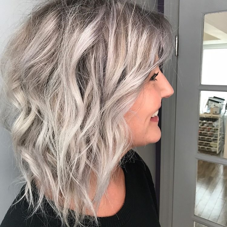 The Best 10 Best Medium Length Layered Hairstyles 2019 Hairstyles Weekly Pictures