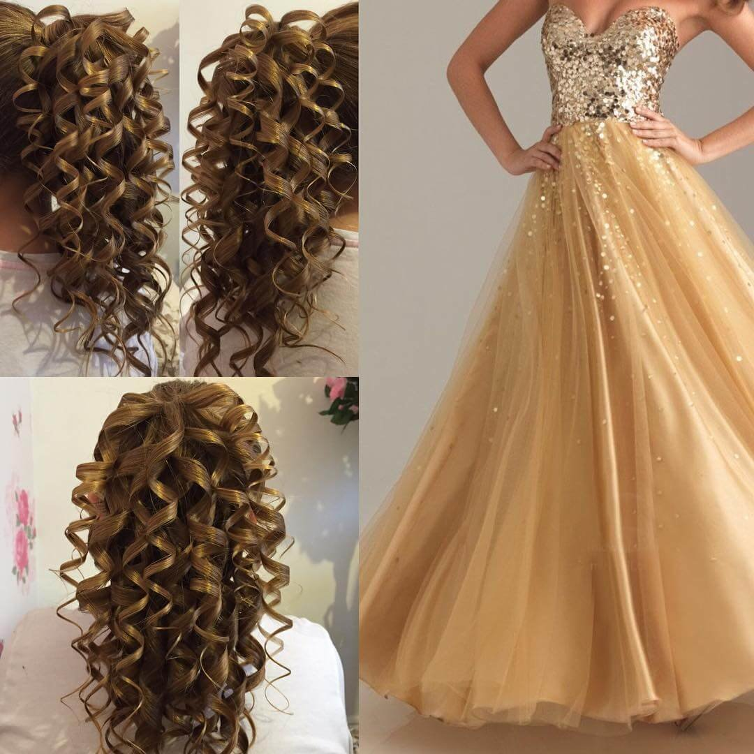 The Best 25 Curly Wedding Hairstyle Ideas Designs Design Trends Pictures