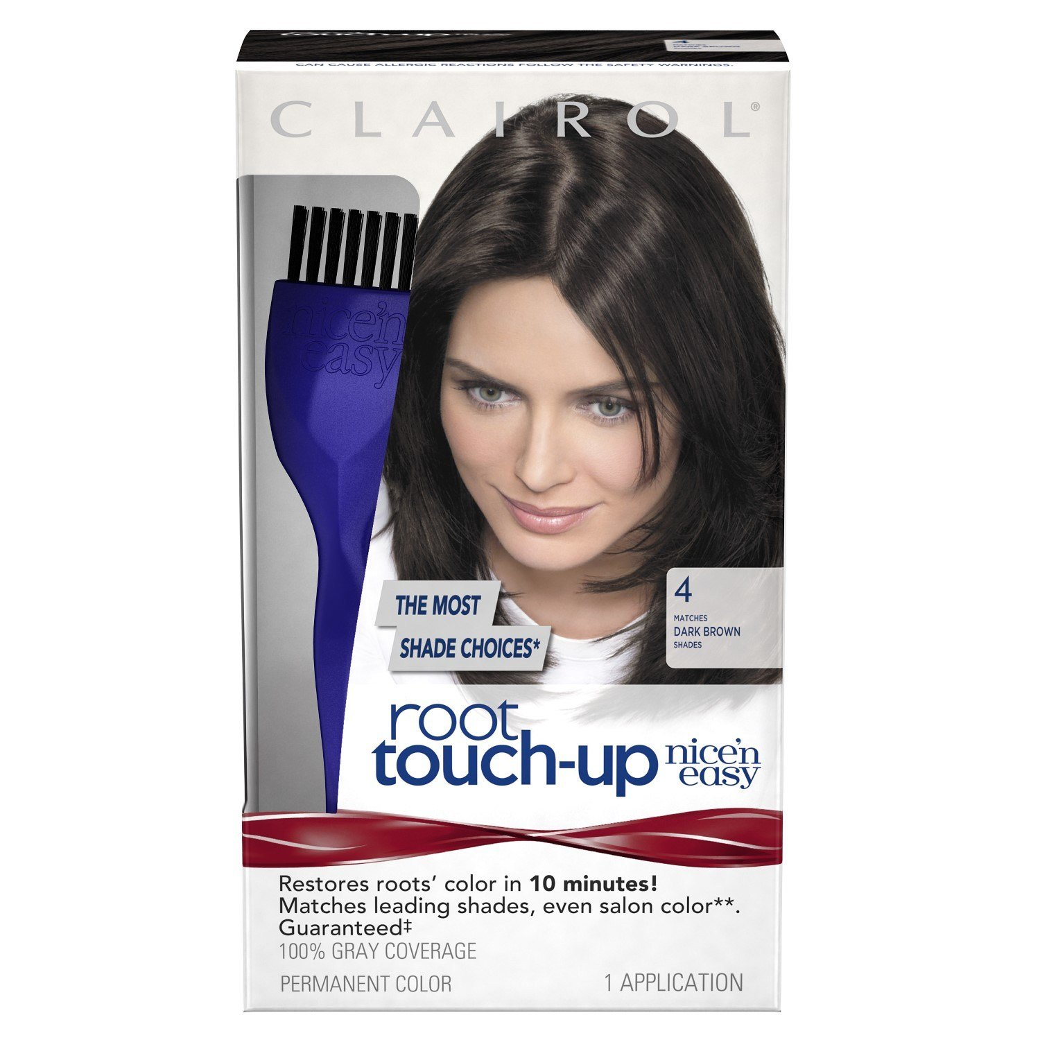 The Best Clairol Nice N Easy Root Touch Up 004 Dark Brown 1 Kit Pictures