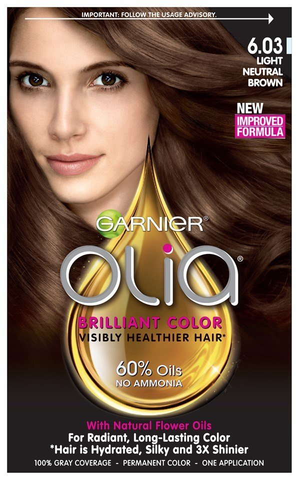 The Best Garnier Olia Oil Powered Permanent Hair Color 6 03 Light Pictures