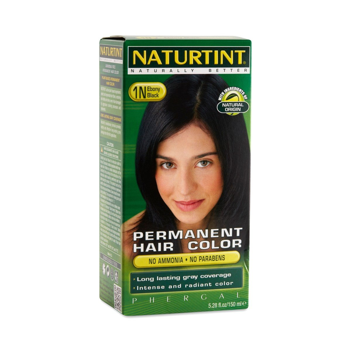 The Best Ebony Black 1N Permanent Hair Color By Naturtint Thrive Pictures