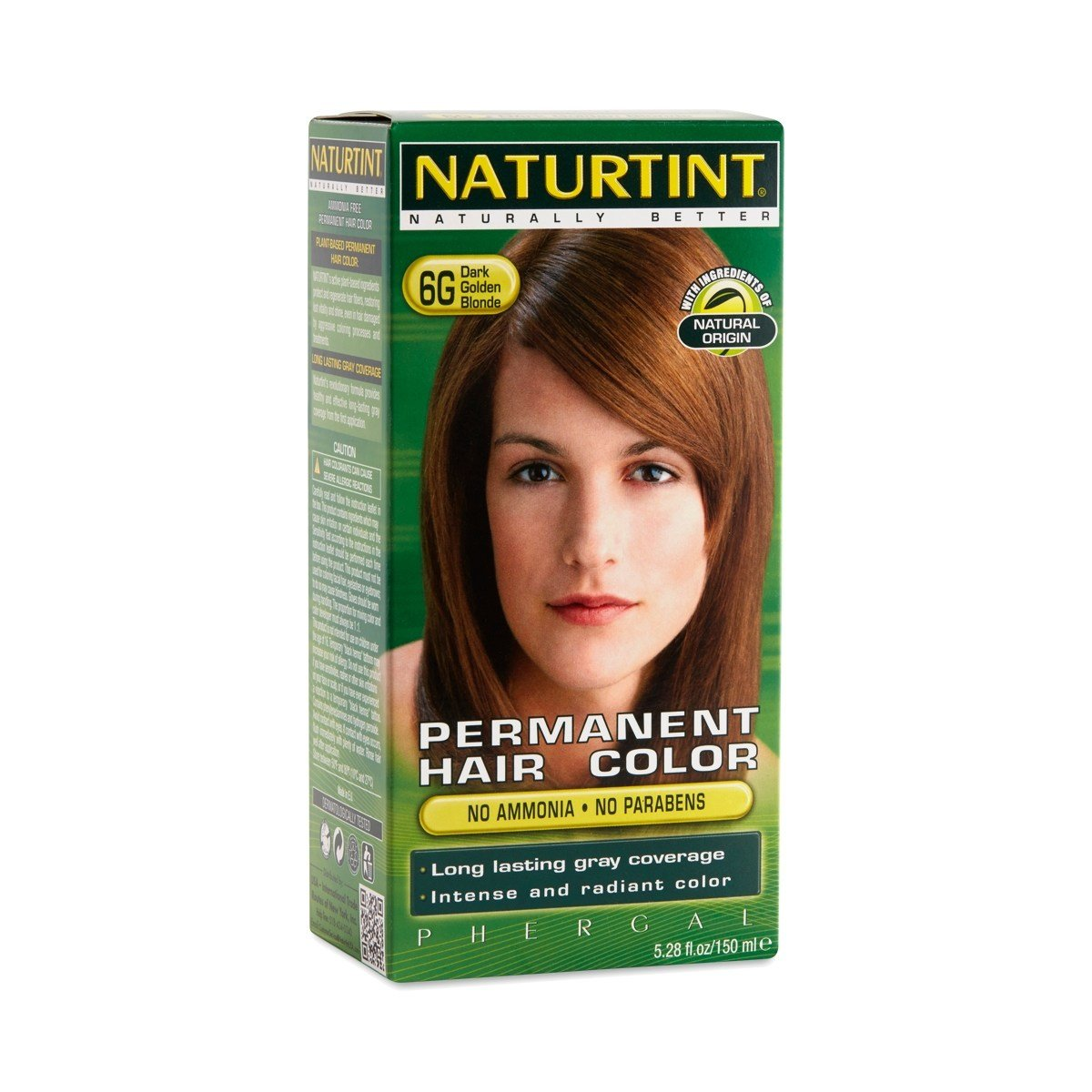 The Best Dark Golden Blonde 6G Permanent Hair Color By Naturtint Pictures