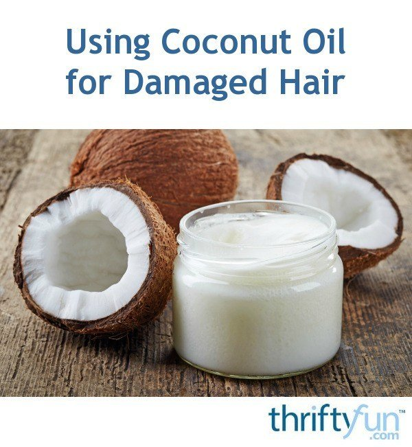 The Best Using Coconut Oil For Damaged Hair Thriftyfun Pictures