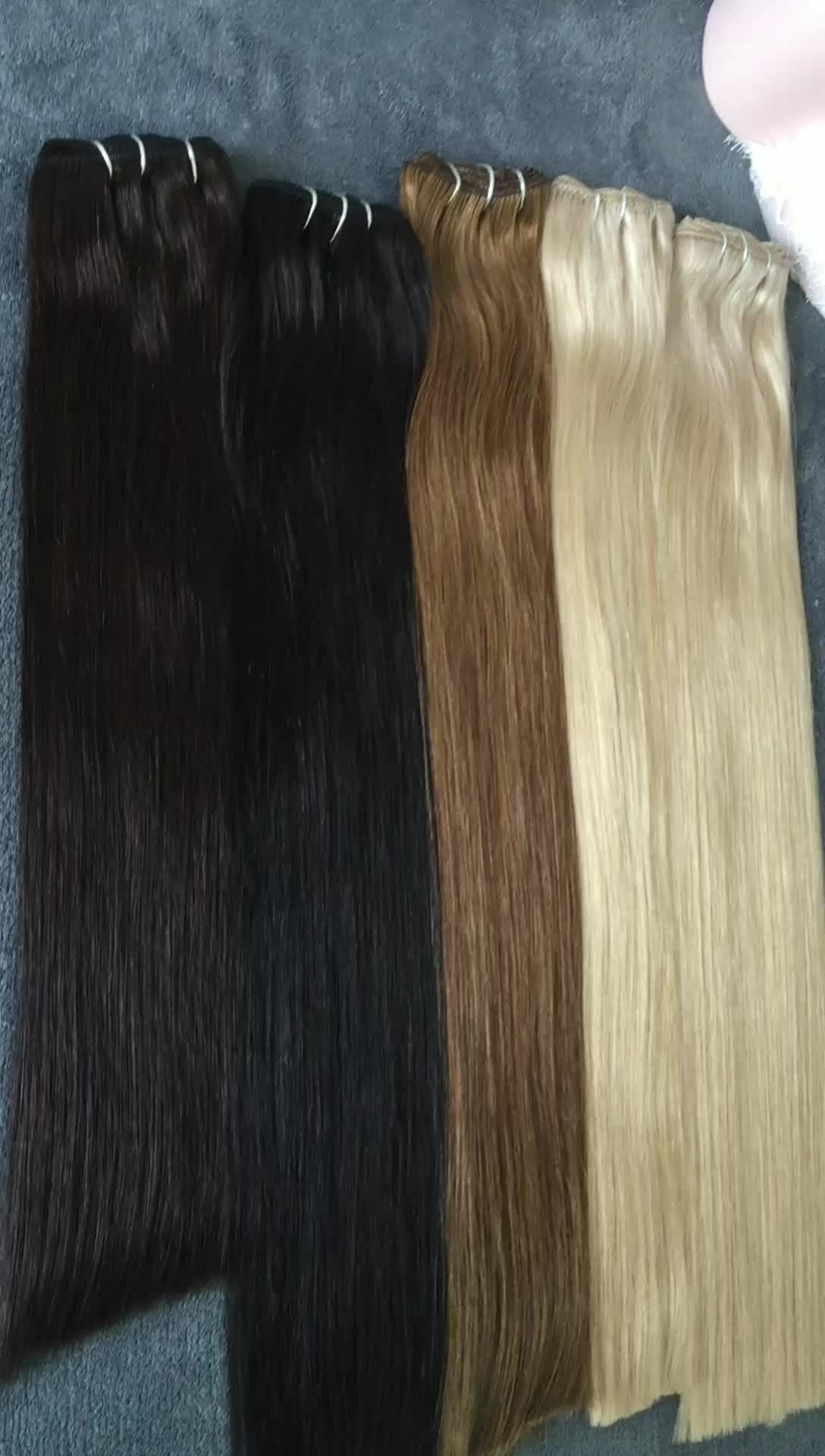 The Best 100 Human Hair Cheap Colored Clip In Hair Extensions Buy Pictures
