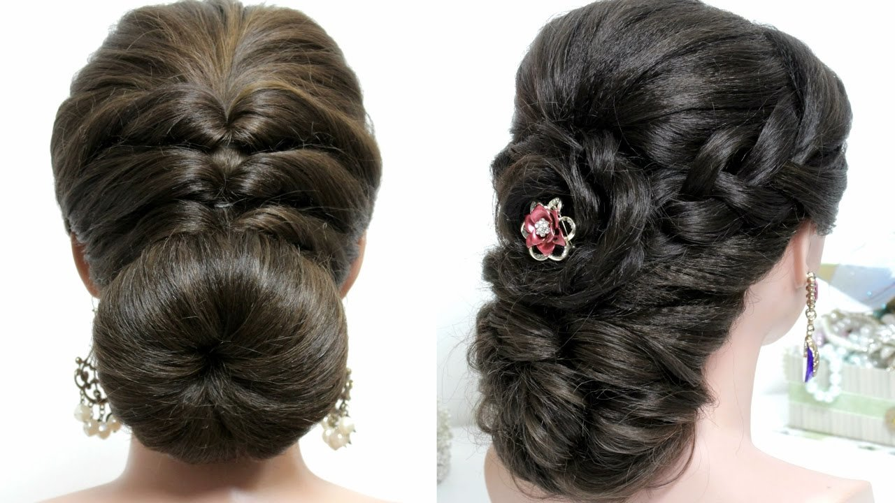 The Best 2 Easy Hairstyles For Long Hair Tutorial Prom Updos Youtube Pictures