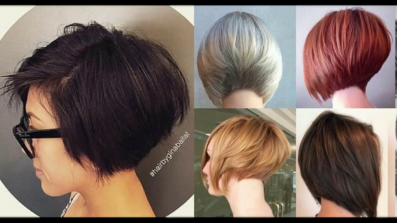 The Best Short Stacked Layered Bob Haircut Youtube Pictures
