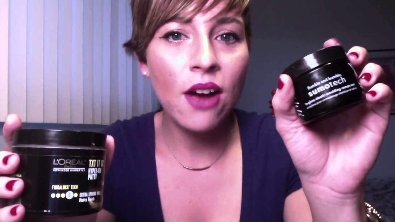 The Best Hair Products I Use For My Pixie Short Haircut Youtube Pictures