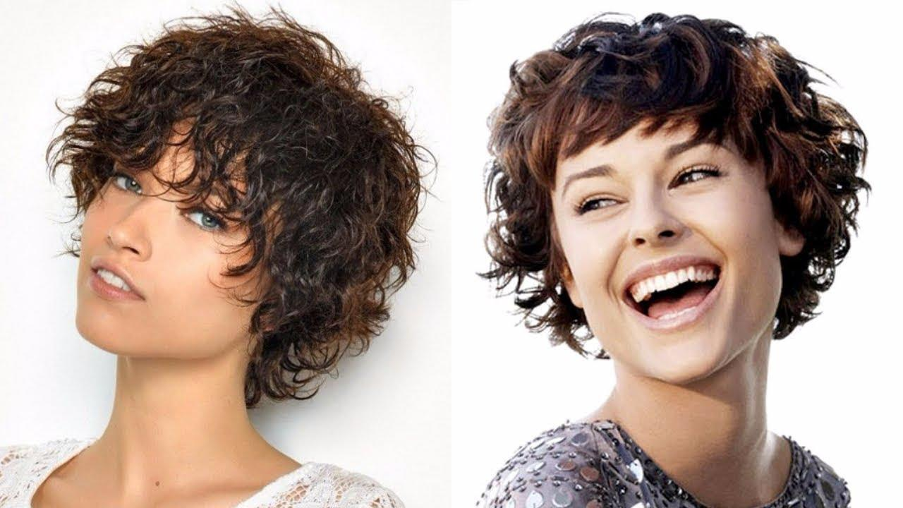 The Best Short Haircuts Curly Hair Women Hairstyles 2018 Youtube Pictures