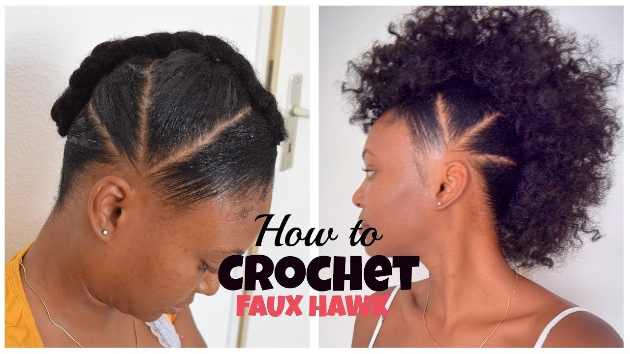 The Best How To Crochet Faux Hawk With Overthetophaircollection Pictures