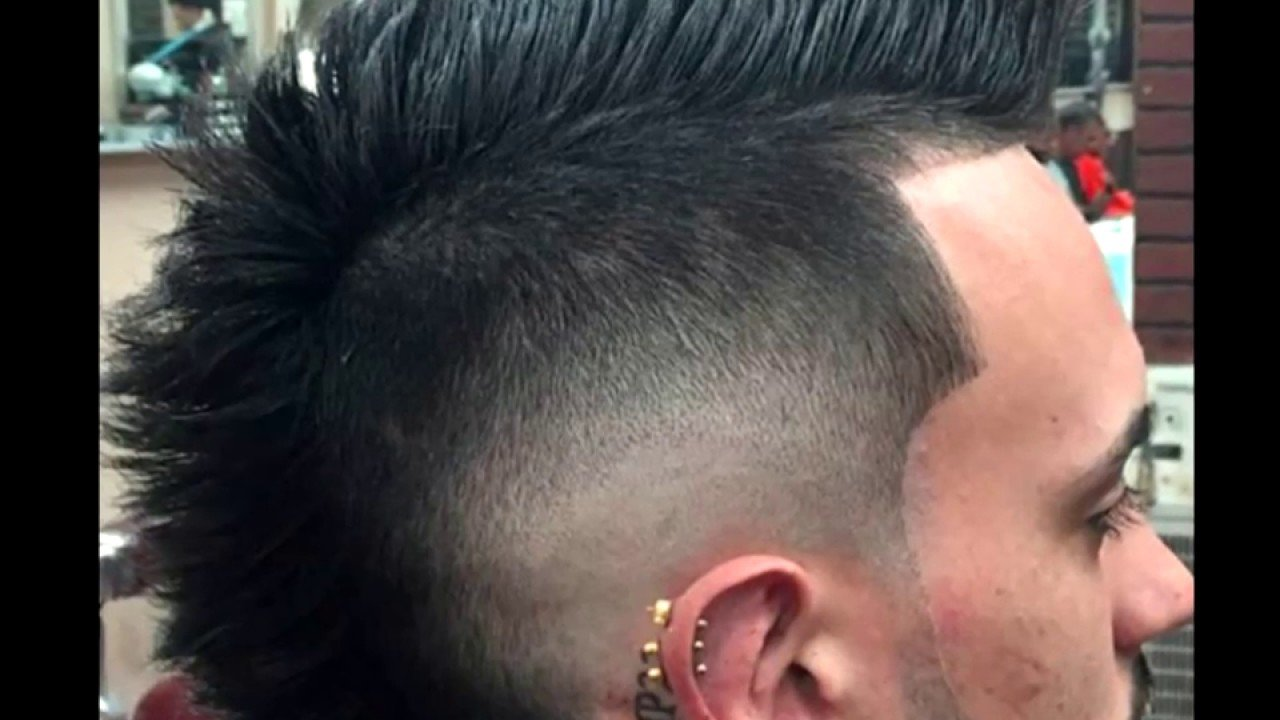 The Best 2017 Mohawk Hairstyles For Men Youtube Pictures