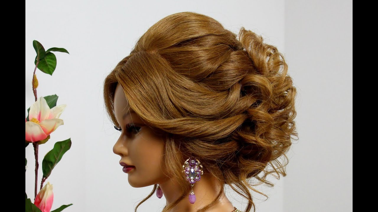 The Best Bridal Hairstyle For Long Medium Hair Wedding Prom Updo Pictures