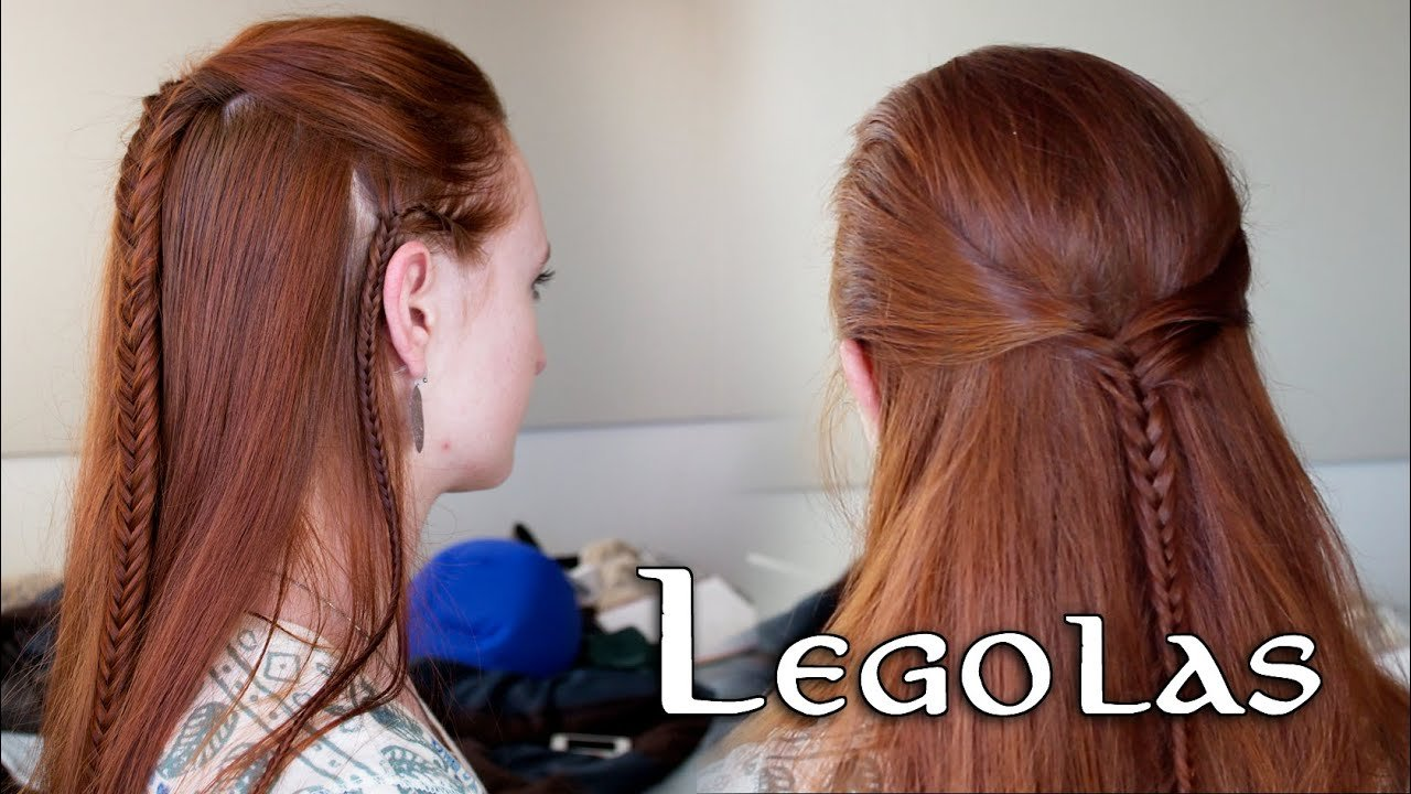 The Best Lord Of The Rings Hair Tutorial For Men Legolas Youtube Pictures