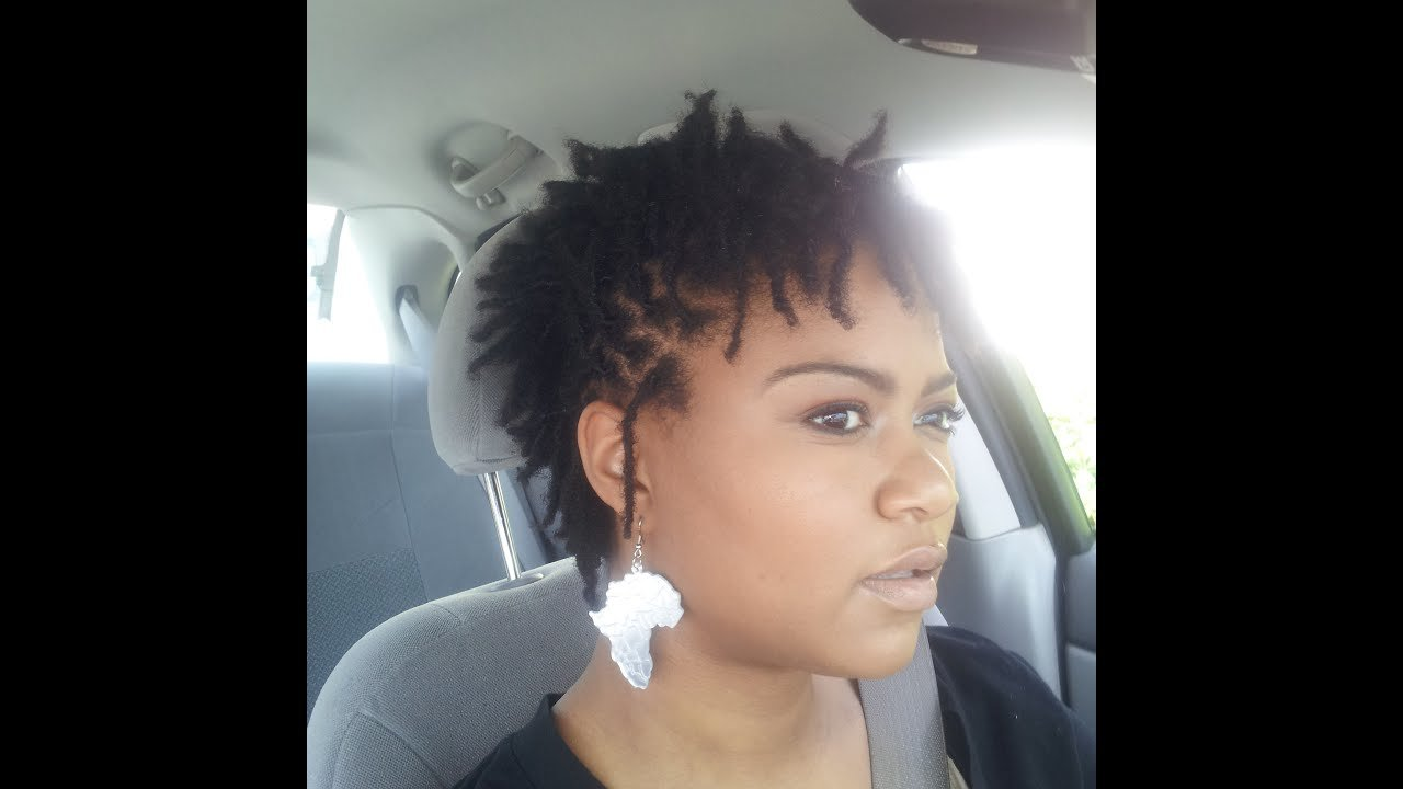 The Best Loc Faux Hawk Style For Short Locs Youtube Pictures