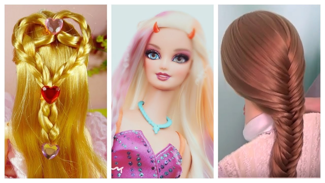 The Best Barbie Doll Hairstyles How To Make Barbie Hairstyle Pictures