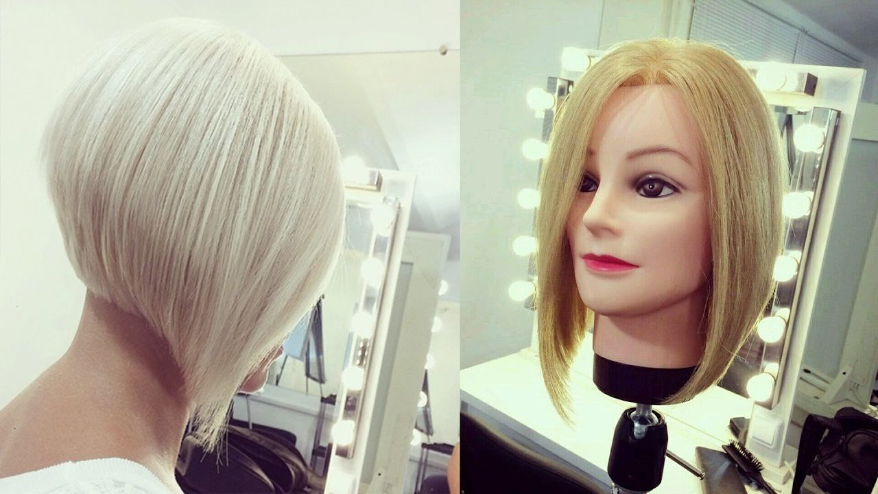 The Best Hairdresser Education Step By Step Short Bob Haircut Pictures