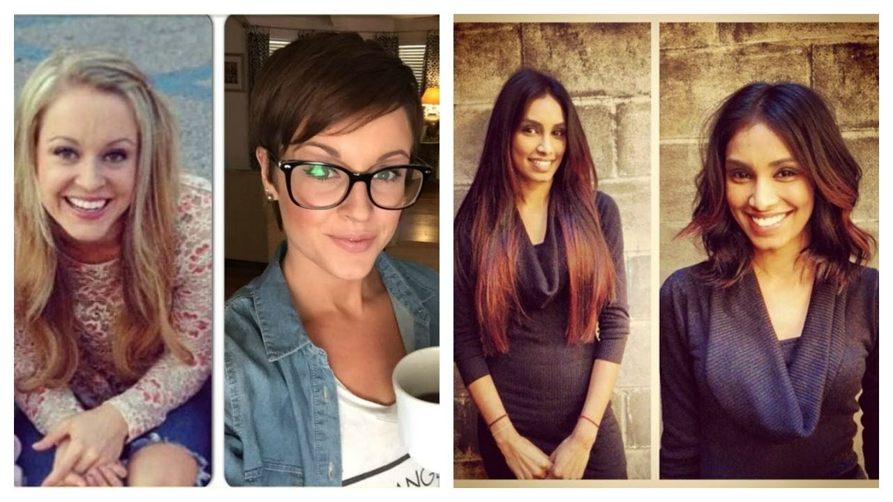 The Best Hair Transformations Haircut Makeovers Before And After 2 Pictures
