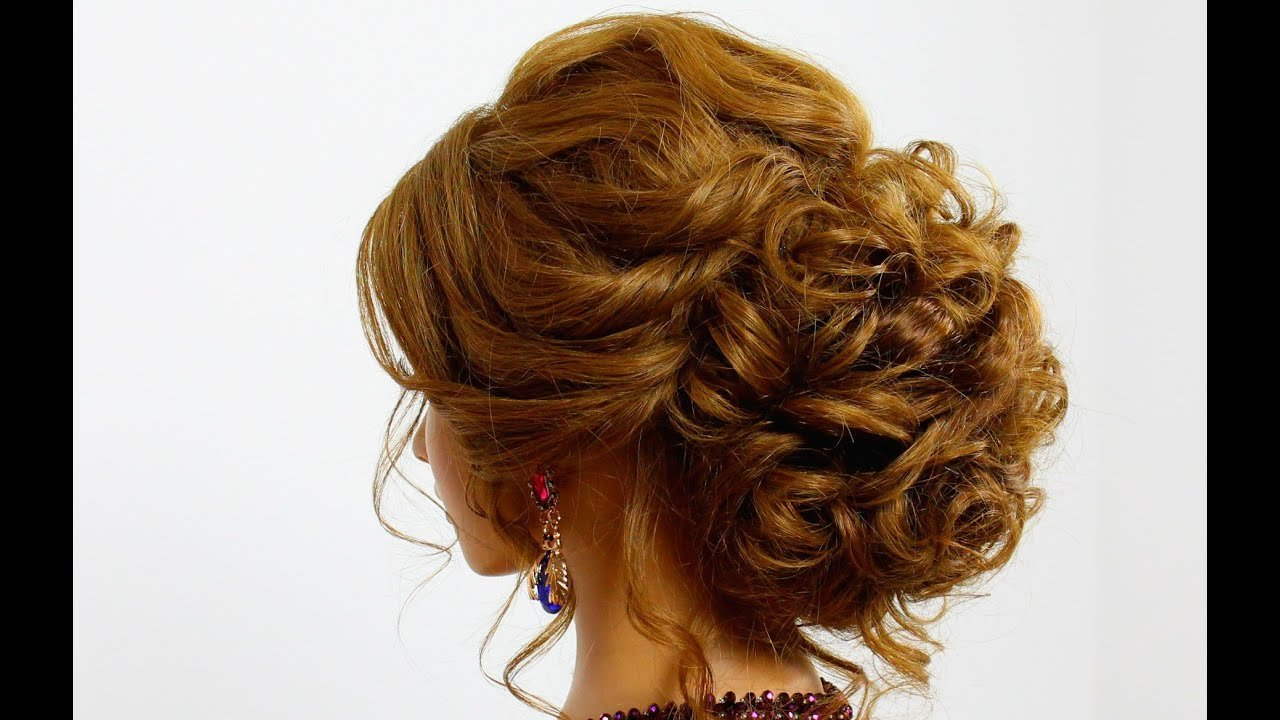 The Best Hairstyle For Long Hair Prom Updo Youtube Pictures