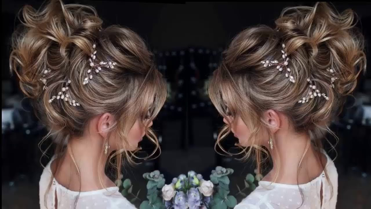 The Best Elegant Hairstyles For Thin Hair Elegant Prom Hairdos Pictures