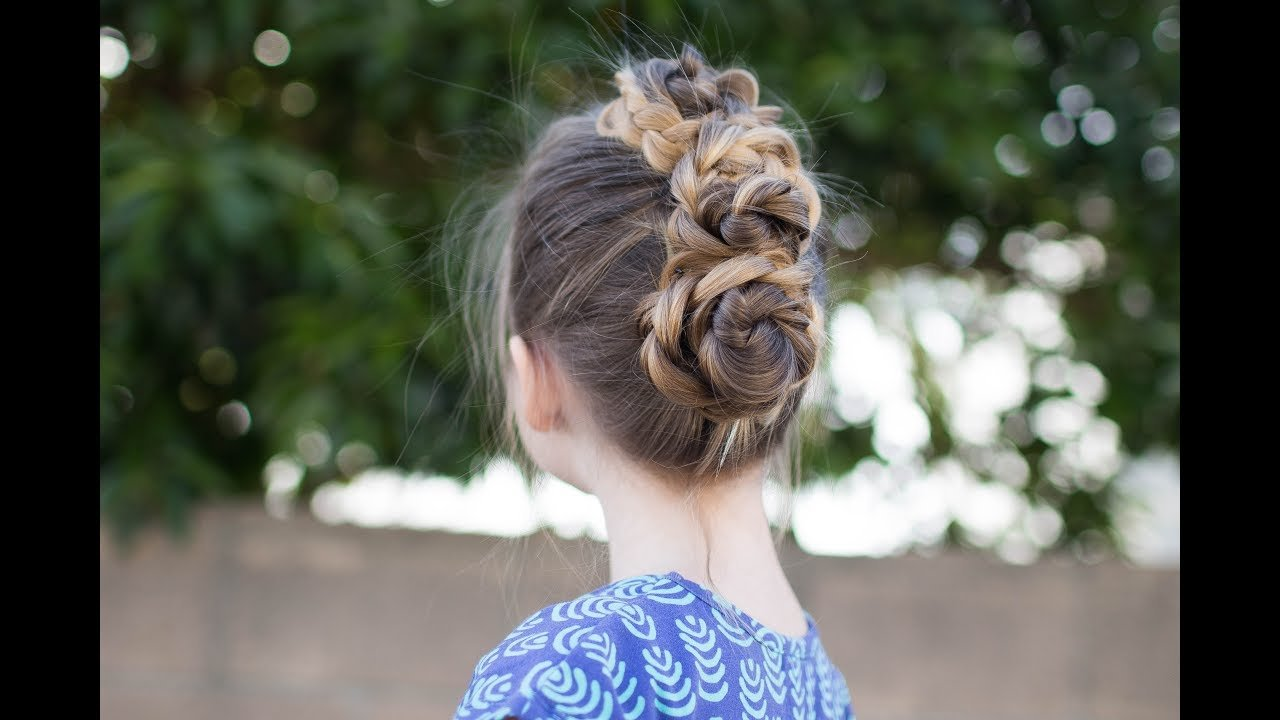 The Best Triple Bun Updo Homecoming Hairstyles Easy Diy Pictures